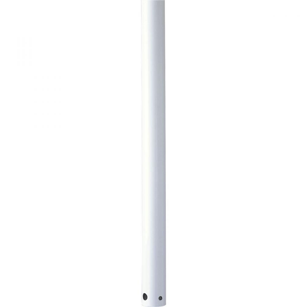 White Fan Down Rod