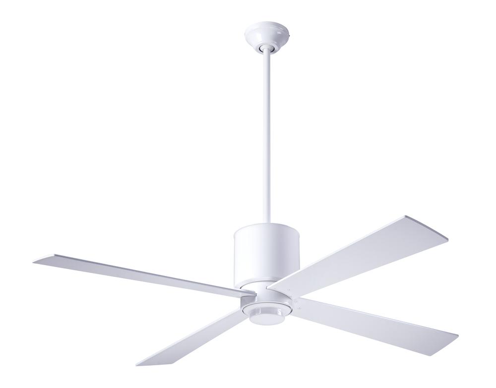 Lapa Fan Gloss White Finish 50 Blades No Light