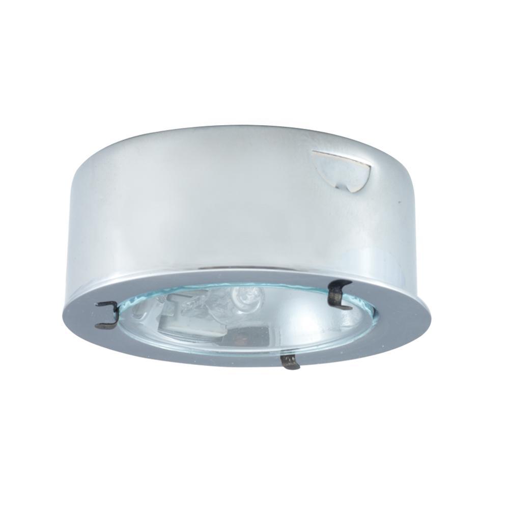 Xenon metal puck light pk100x ch manhattan lights inc xenon metal puck light aloadofball Images
